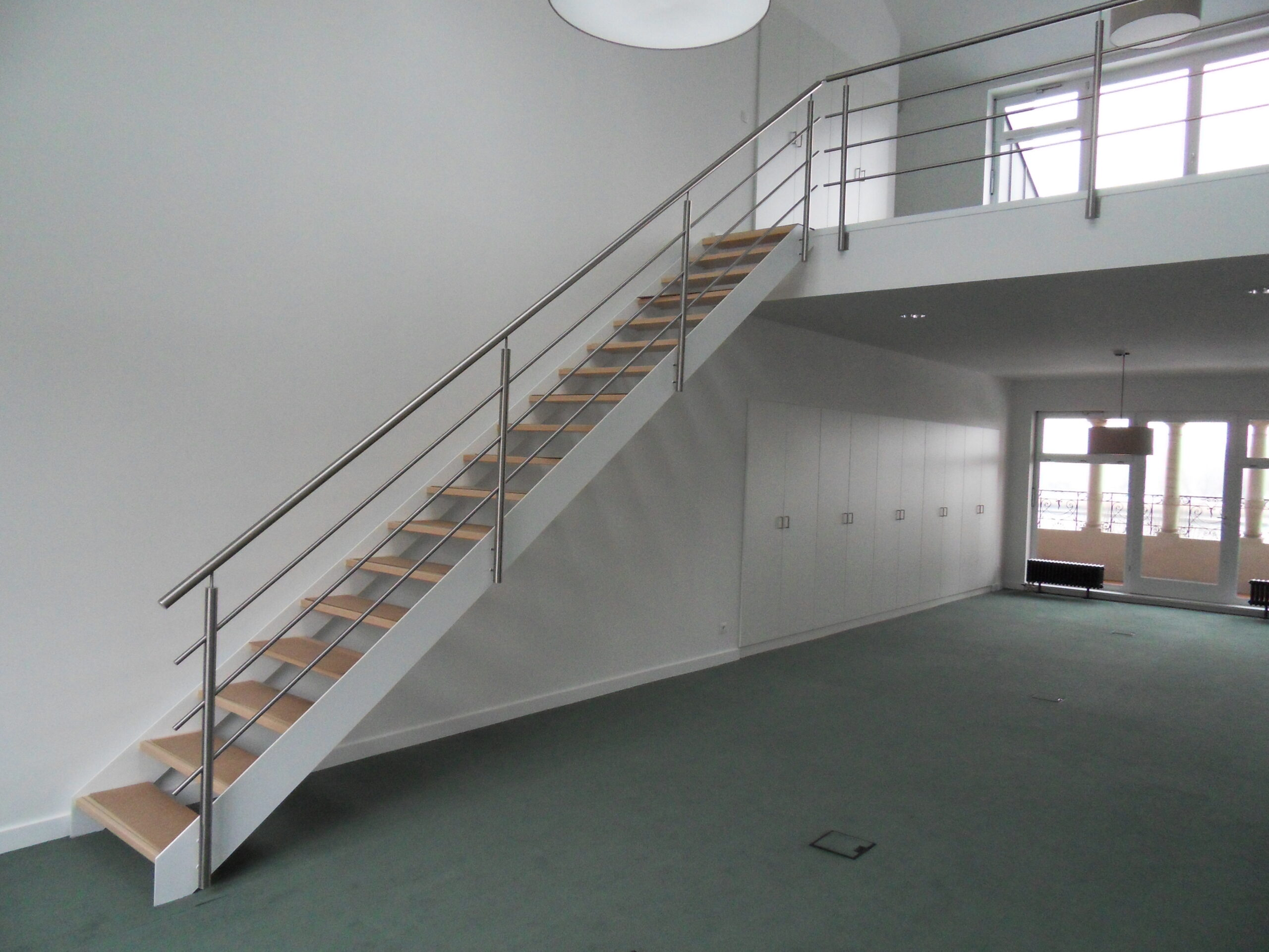 Trappen op maat al las metalen ijzeren aluminium trappen